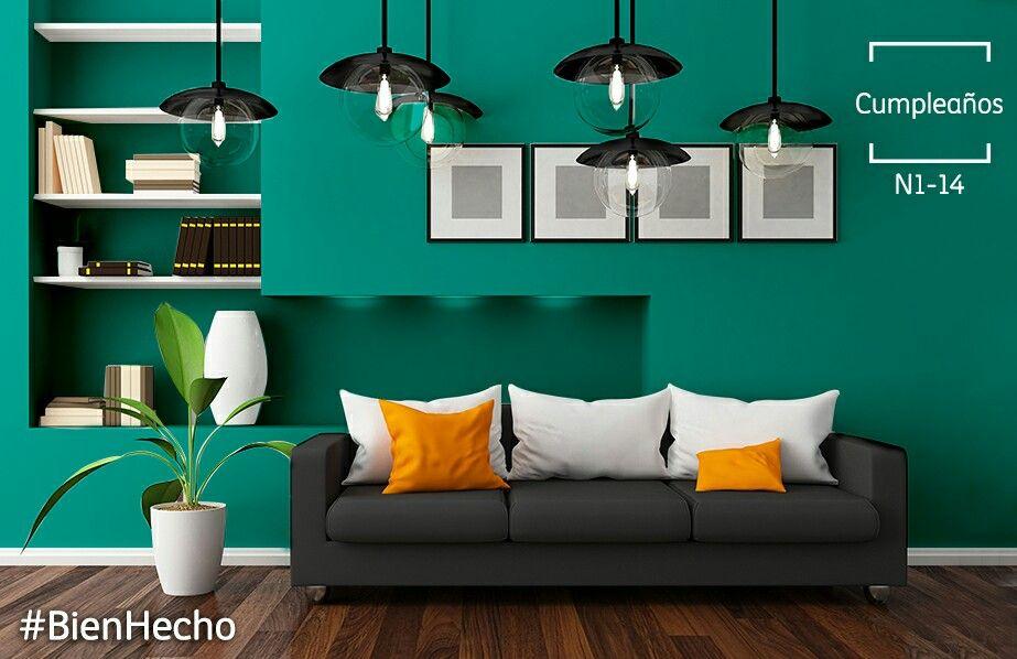 Lugares y colores perfectos para festejar eventos - Pinturas especiales para paredes ...