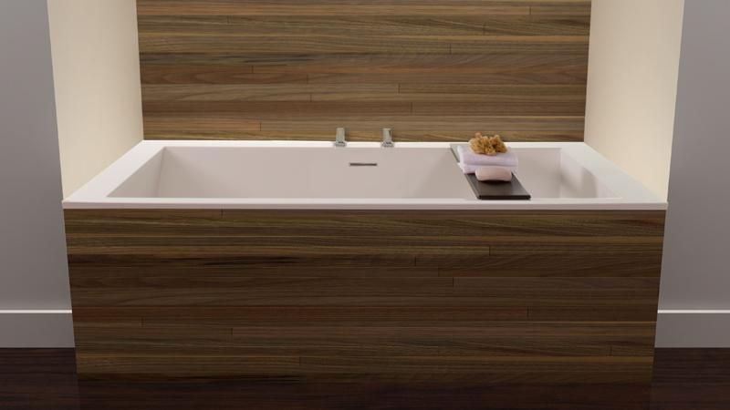 Cube Collection Drop In Soaker Tub | Tubs, Cube and Wet style
