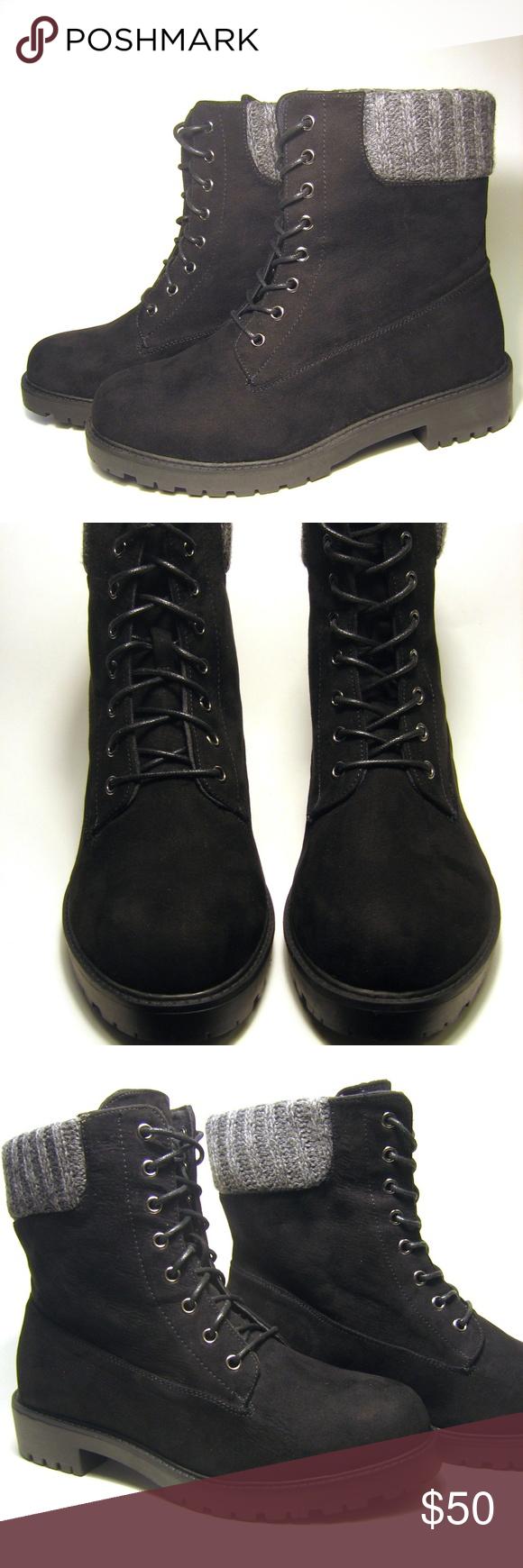 8c578cca2b17 NWOB 9 Wide Torrid Black Combat Boots Brand New Without Box. Never Worn!  Torrid s