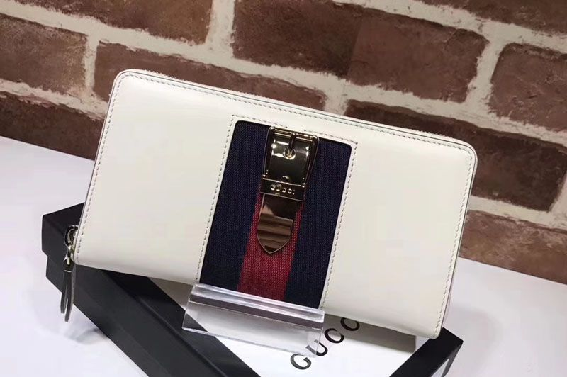 9baed1a8d793ac Replica Gucci 476083 Sylvie leather zip around wallet White … Continue  reading →