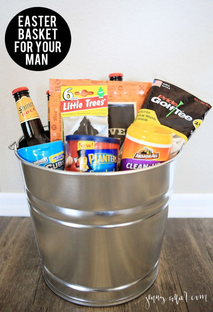 Easter basket ideas for men easter baskets easter and basket ideas basket ideas easter basket for your man negle Choice Image