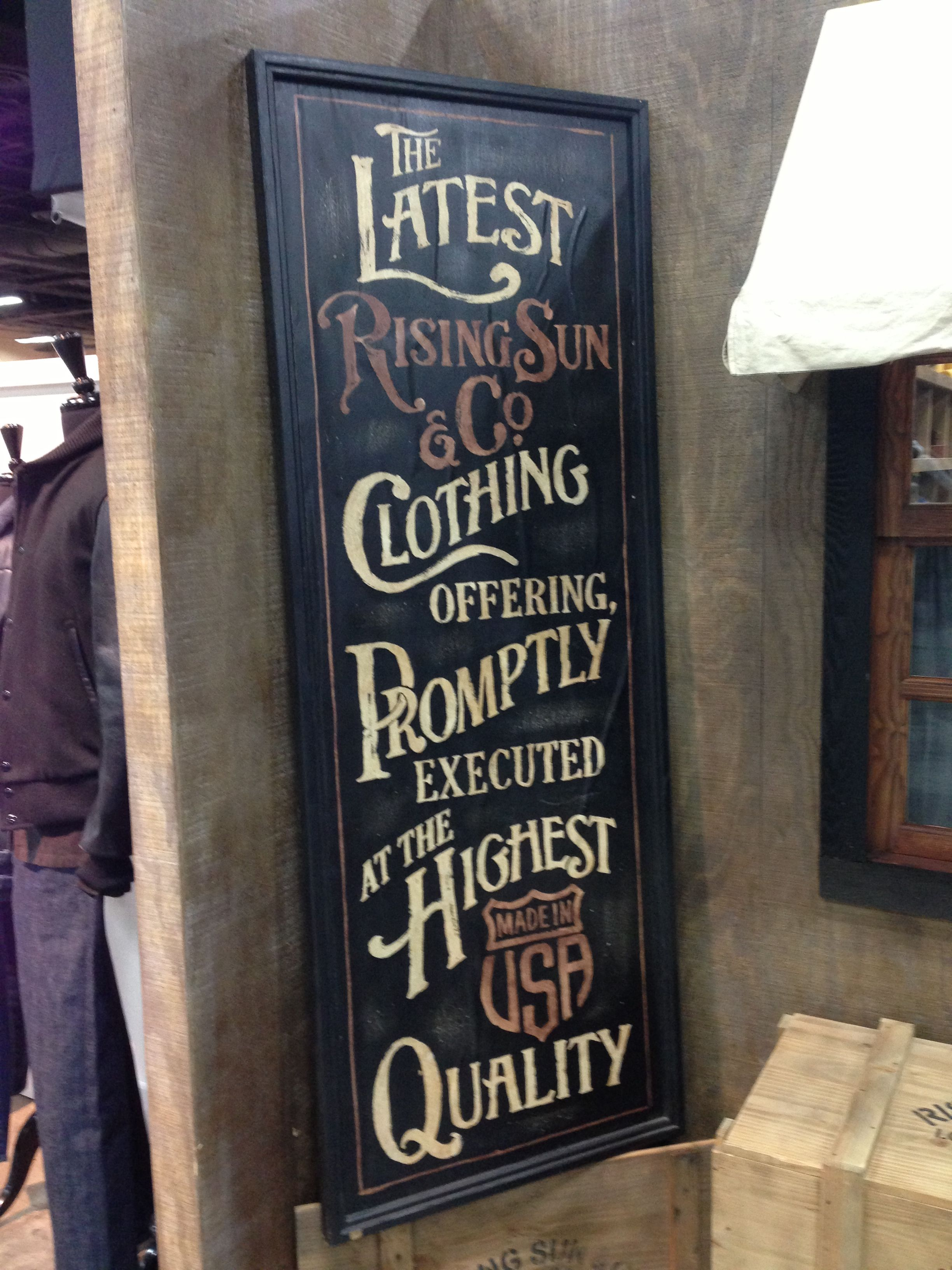 vintage sign painter | Painted signs, Hand painted signs ...