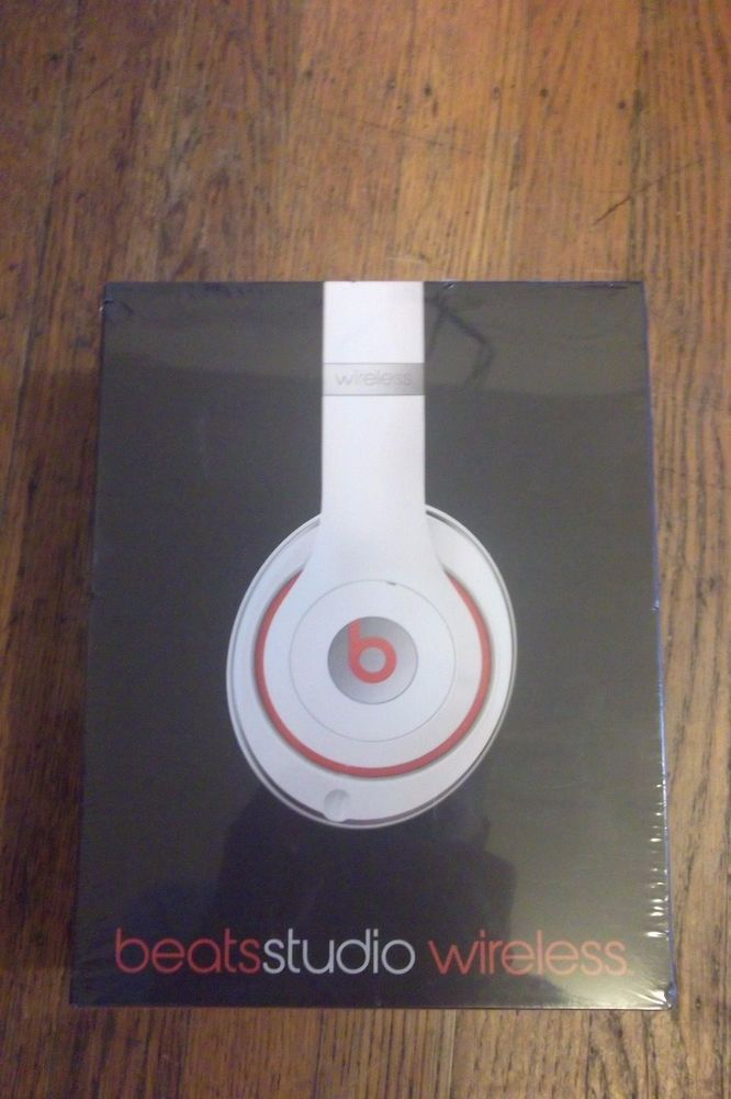 78c4ff9c2cd4 Beats by Dr. Dre Beats Studio Wireless Over-Ear Headphones White New In  Box. #BeatsbyDrDre