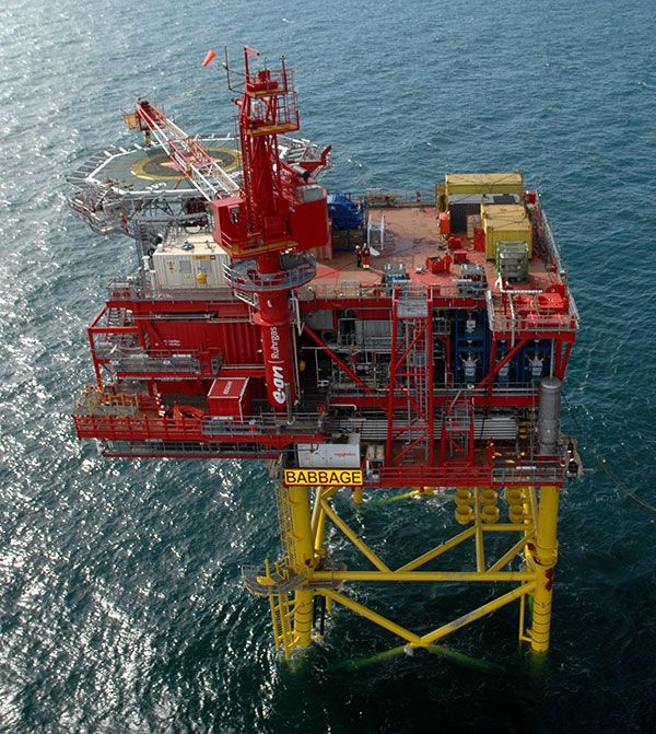 Immage Offshore Engineering : Babbage gas field is located in block of the north