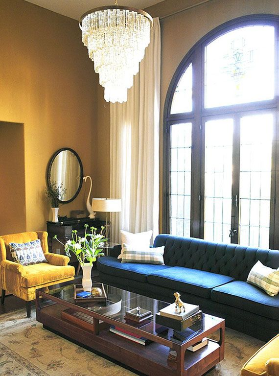 High Ceiling Rooms And Decorating Ideas For Them Home Living Room Inspiration Teal Sofa