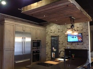 Loft Kitchen Design In This 200 Sq Ft 4 Galley With Refrigerator Freezer Microwave Oven 2 Burner Induction For Additional Cooking You
