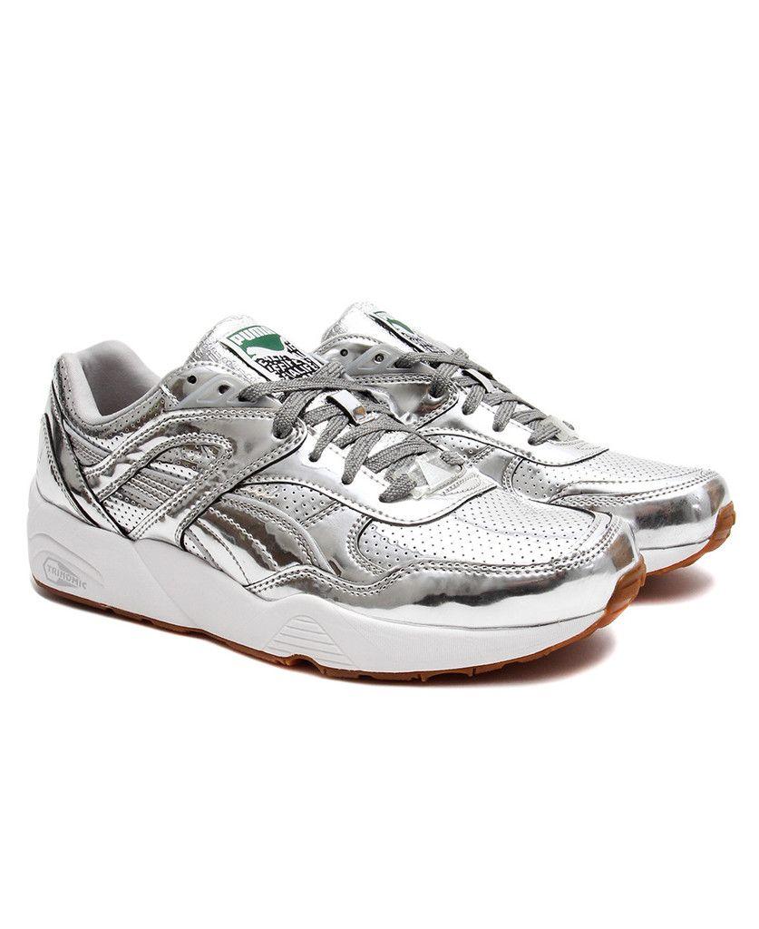 0c7172ed4b2 Puma x ALIFE - R698 Trinomic (Metallic Silver White)