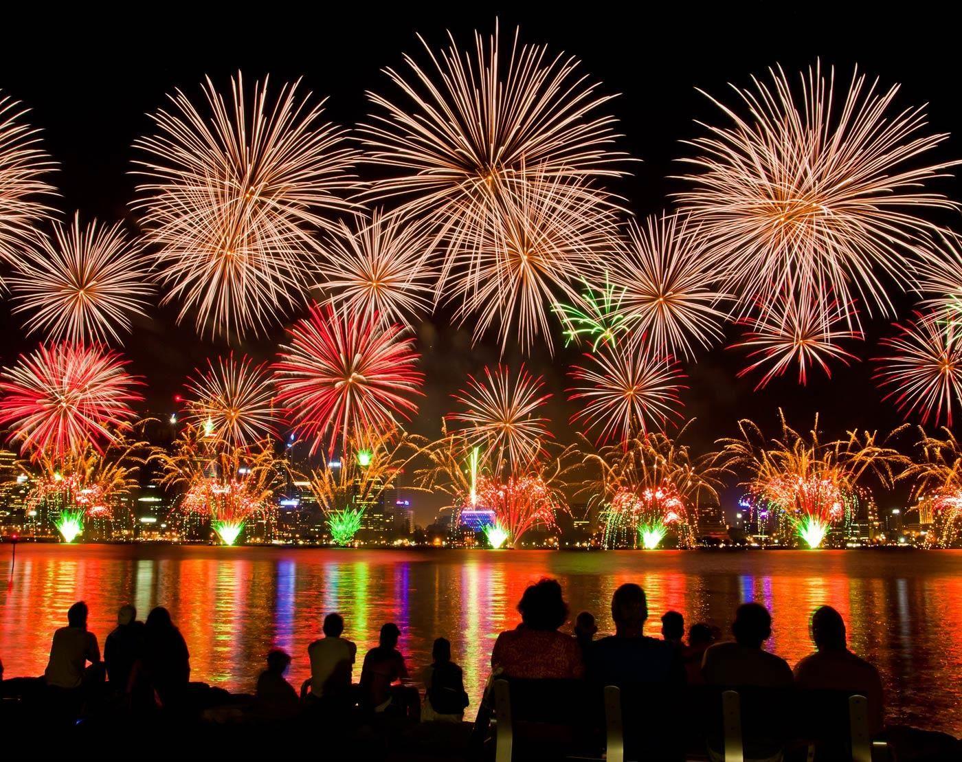 Image result for fireworks of australia day 2019