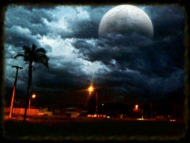 Quando cai a noite.....