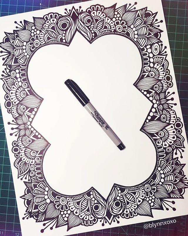 Workshop sharpie pdf art