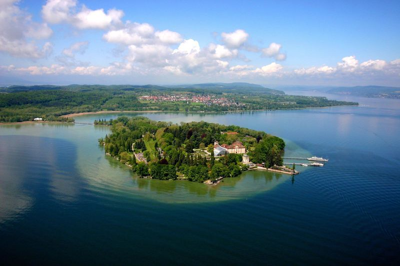 Insel Mainau Lake Beautiful Places Cycling Holiday
