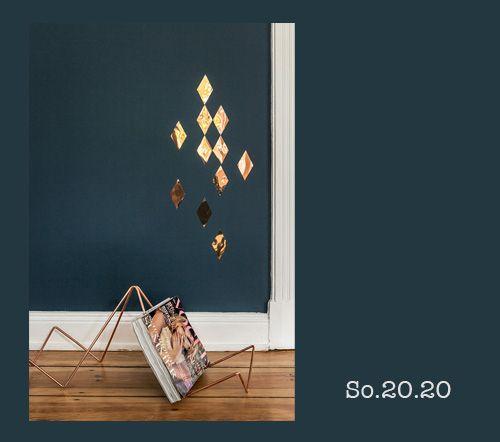 Die Farbcodes zu unseren neuen Wandfarben  Products I