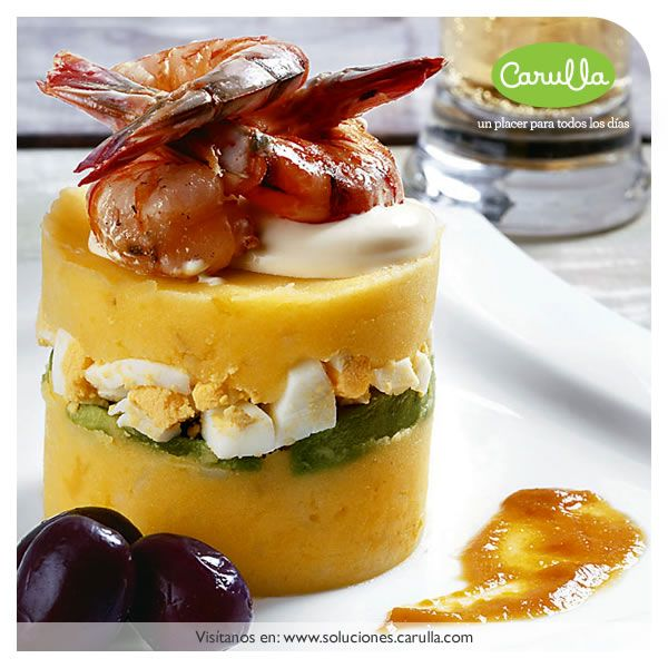 Causa limea con langostinos food from peru pinterest lunch causa limea con langostinos lunch buffetfood forumfinder Image collections