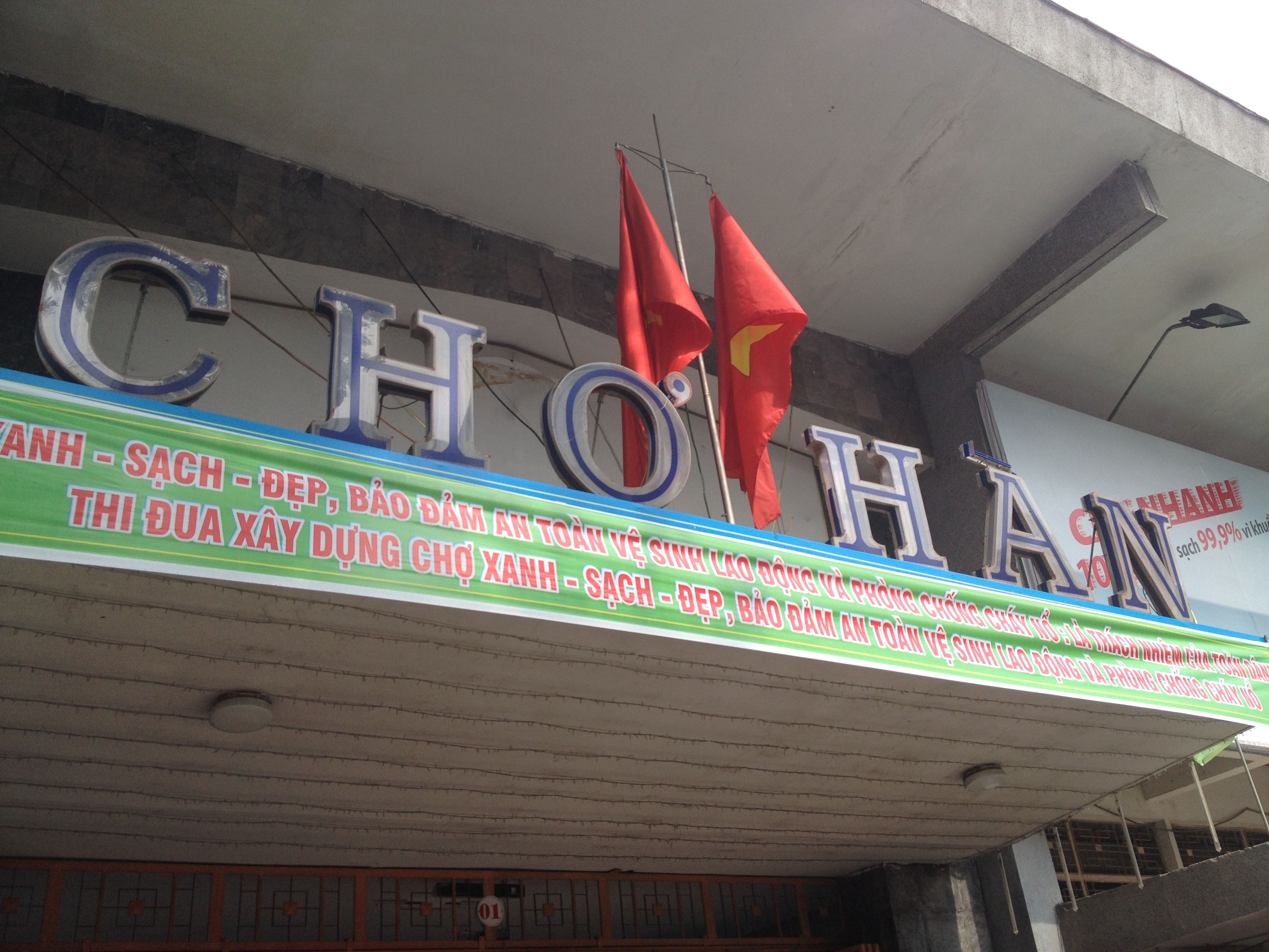 Cho Han, well known fish market for the inhabitants of Da ...