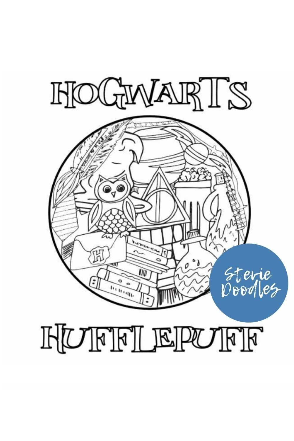 Free Printable Hufflepuff Coloring Pages Stevie Doodles In 2021 Harry Potter Coloring Pages Free Printable Coloring Pages Free Kids Coloring Pages [ 1500 x 1000 Pixel ]
