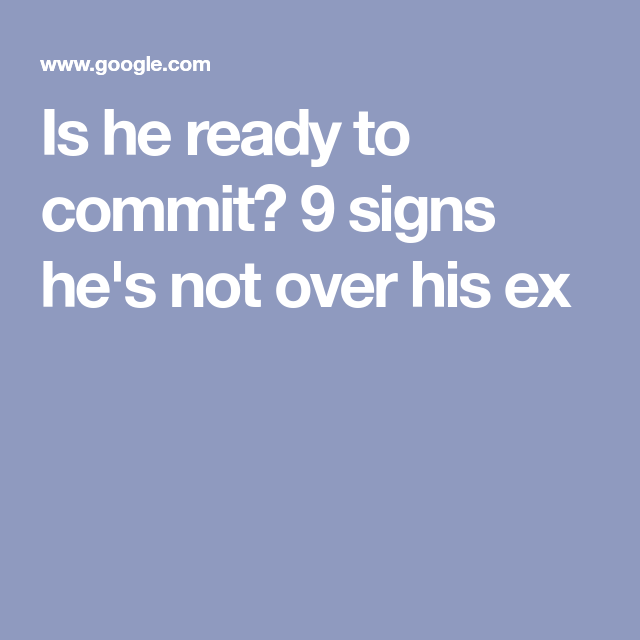 Not his ex hes signs wife over Is He