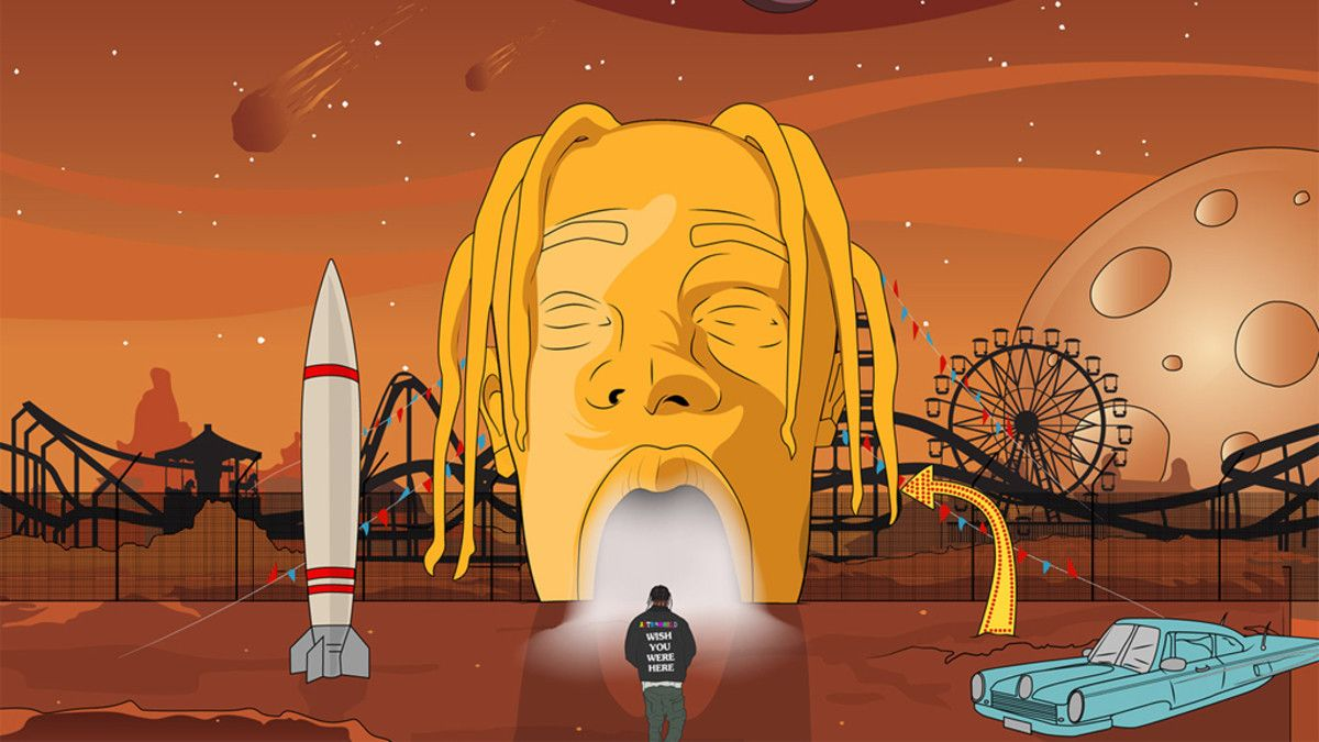 Travis Scott S Astroworld Is About Learning To Enjoy The Ride Travis Scott Art Travis Scott Wallpapers Travis Scott Iphone Wallpaper