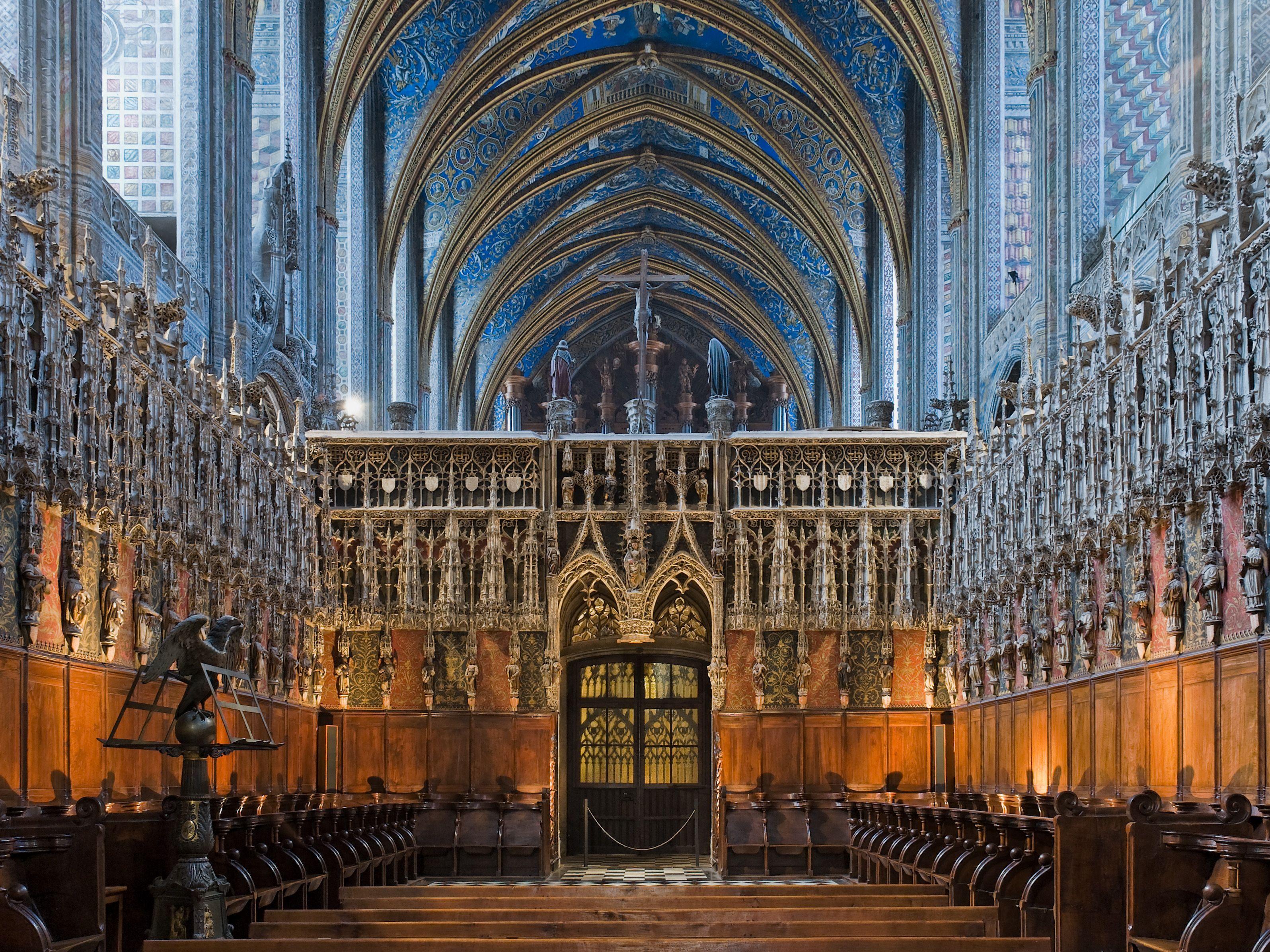 Katedrala Albi, Francuska - jednobrodna