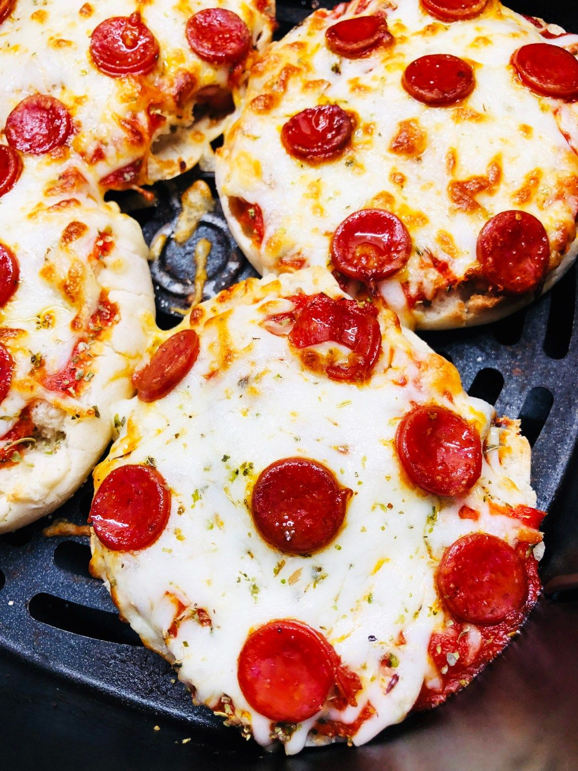 Air Fryer English Muffin Pizzas Recipe in 2020 English