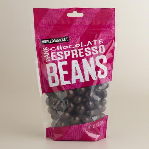 One of my favorite discoveries at WorldMarket.com: World Market® Dark Chocolate Espresso Beans, Set of 3 // World Market