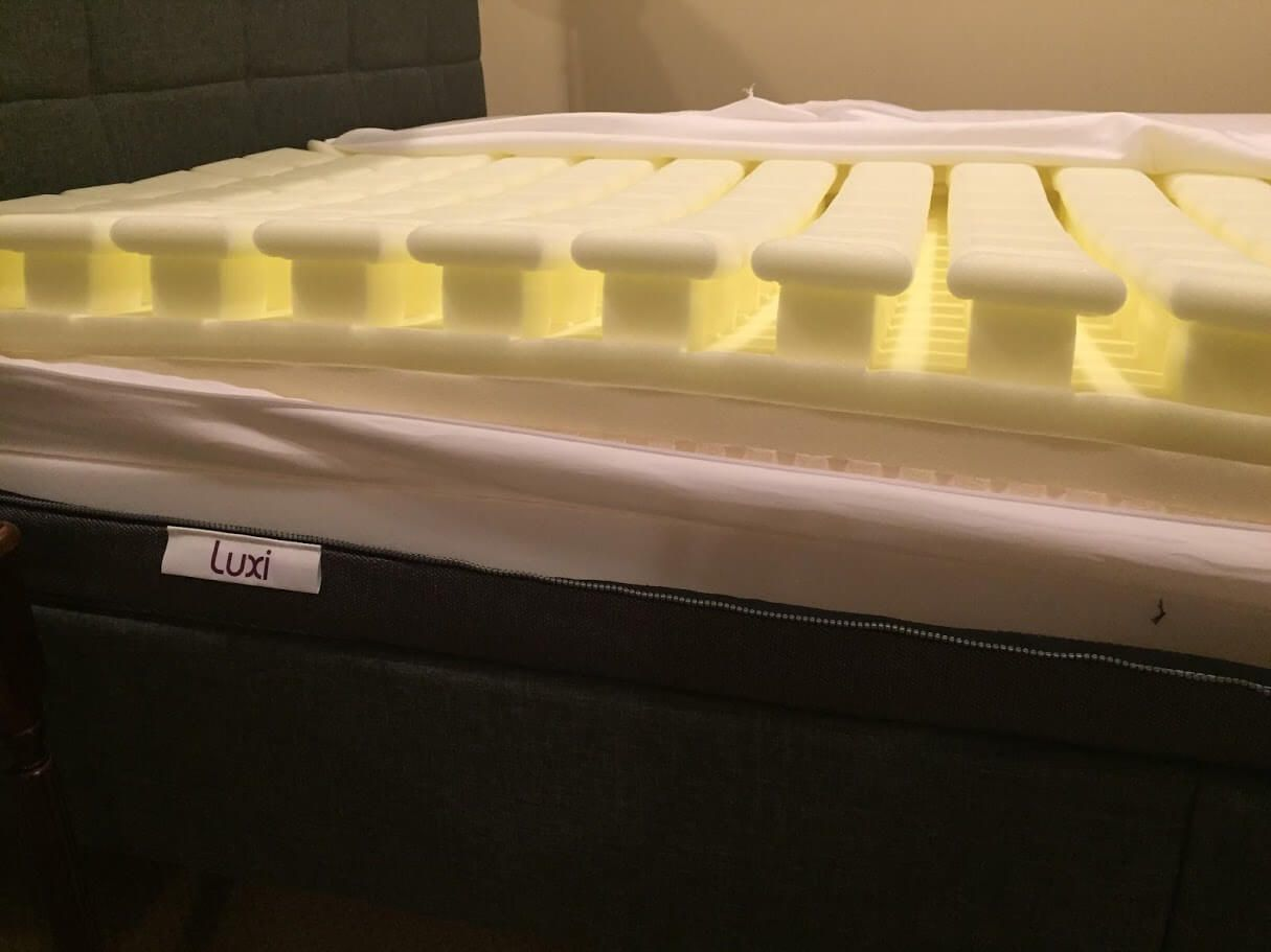 Luxi Mattress A Unique With New Technology And Memory Foam That Can Be Configured For