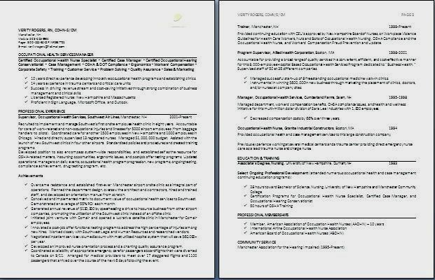 two page resume samples