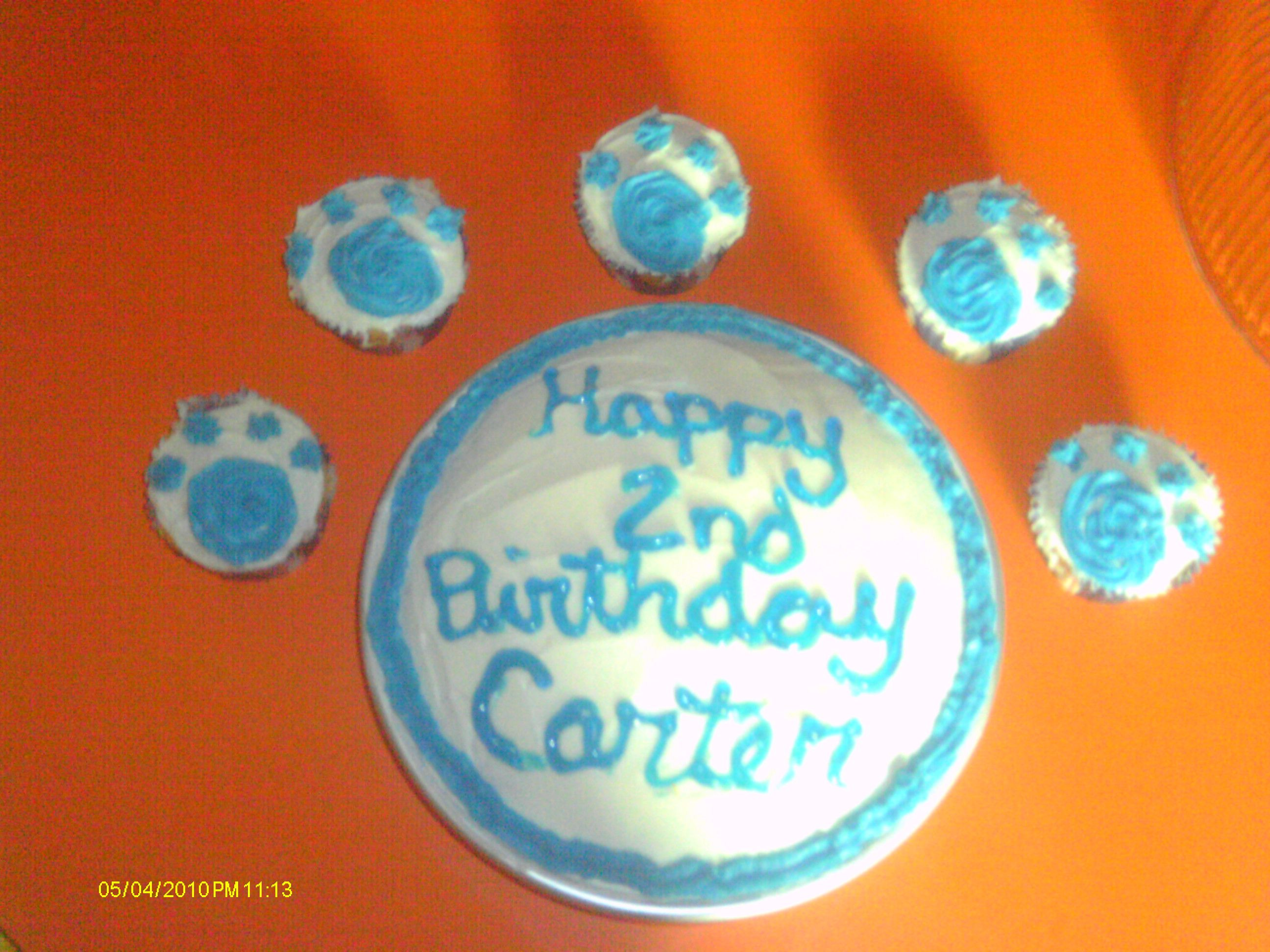 Blues clues Birthday Cake idea! | my projects | Pinterest