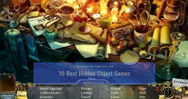 10 Best Hidden Object Games for Android & IOS 2020 Play