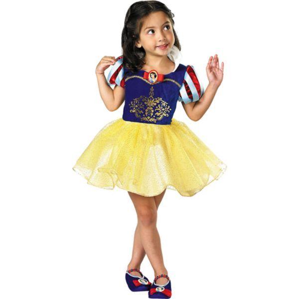 Toddler Girls Classic Snow White Ballerina Costume halloween - halloween costume girl ideas
