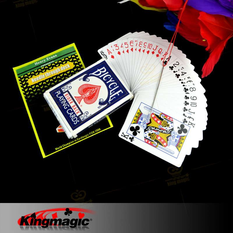 magic tricks magic cards Needle Through Deck kingmagic Magie Trick Props Magia Show Retail/Wholesale   http://www.buymagictrick.com/products/magic-tricks-magic-cards-needle-through-deck-kingmagic-magie-trick-props-magia-show-retailwholesale/  US $8.96  Buy Magic Tricks