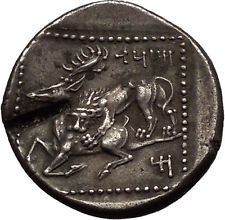 TARSOS in CILICIA 361BC Satrap Mazaios Silver Stater Ancient Greek Coin i53466