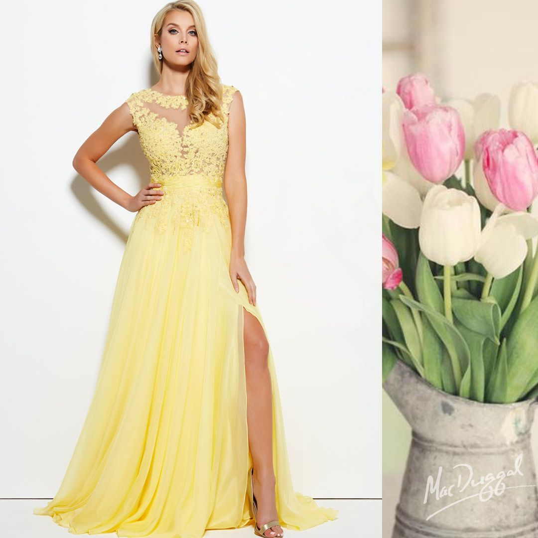 Nothing says Spring like a bright yellow prom dress!   These Mac Duggal Lemon dresses are perfect options for embracing the springtime and standing out in your group!