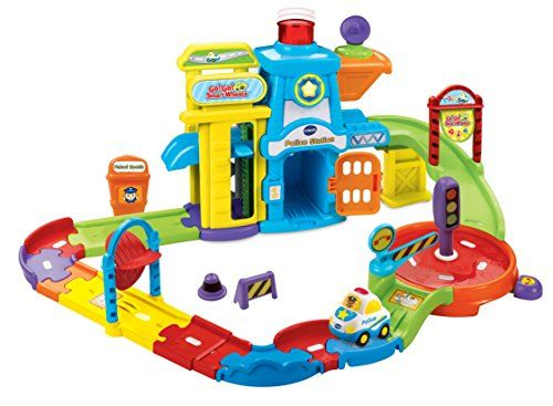 Vtech Go Go Smart Wheels Play Sets Playset Police Station Toys For 1 Year Old