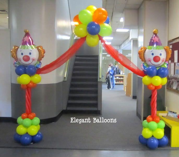 Elegant balloons gallery first birthday children s