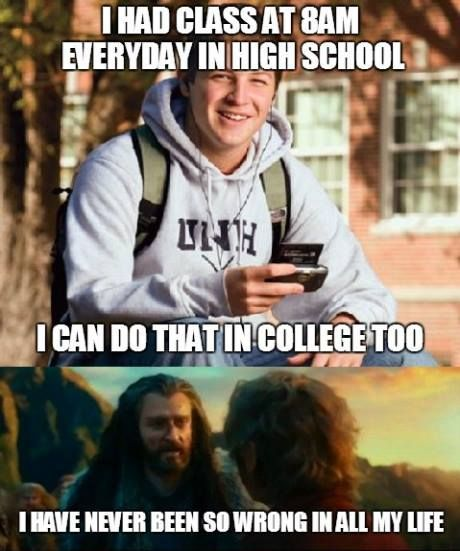 Wake Up Early Funny Memes College Humor Laugh