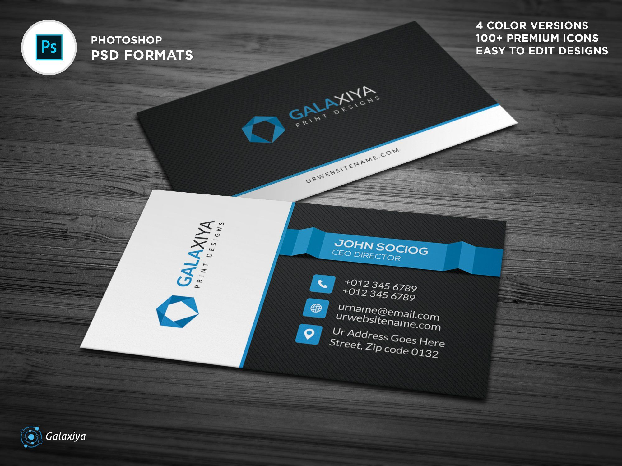 Modern Corporate Business Cards Business Cards Creative Templates Create Business Cards Corporate Business Card
