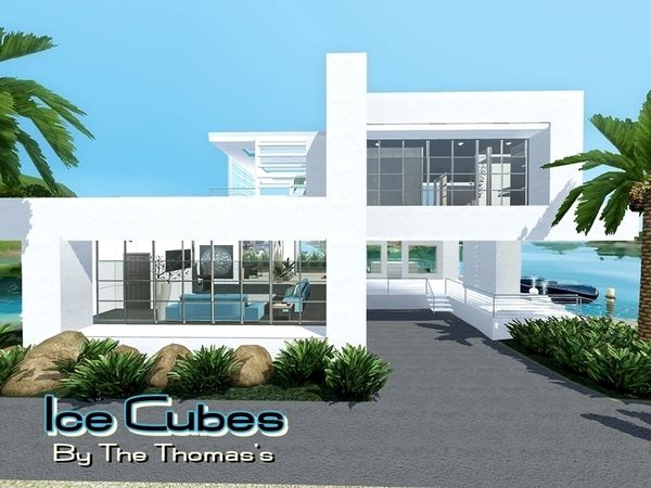 Ice Cubes House By Thethomas04 Sims 3 S Cc Caboodle