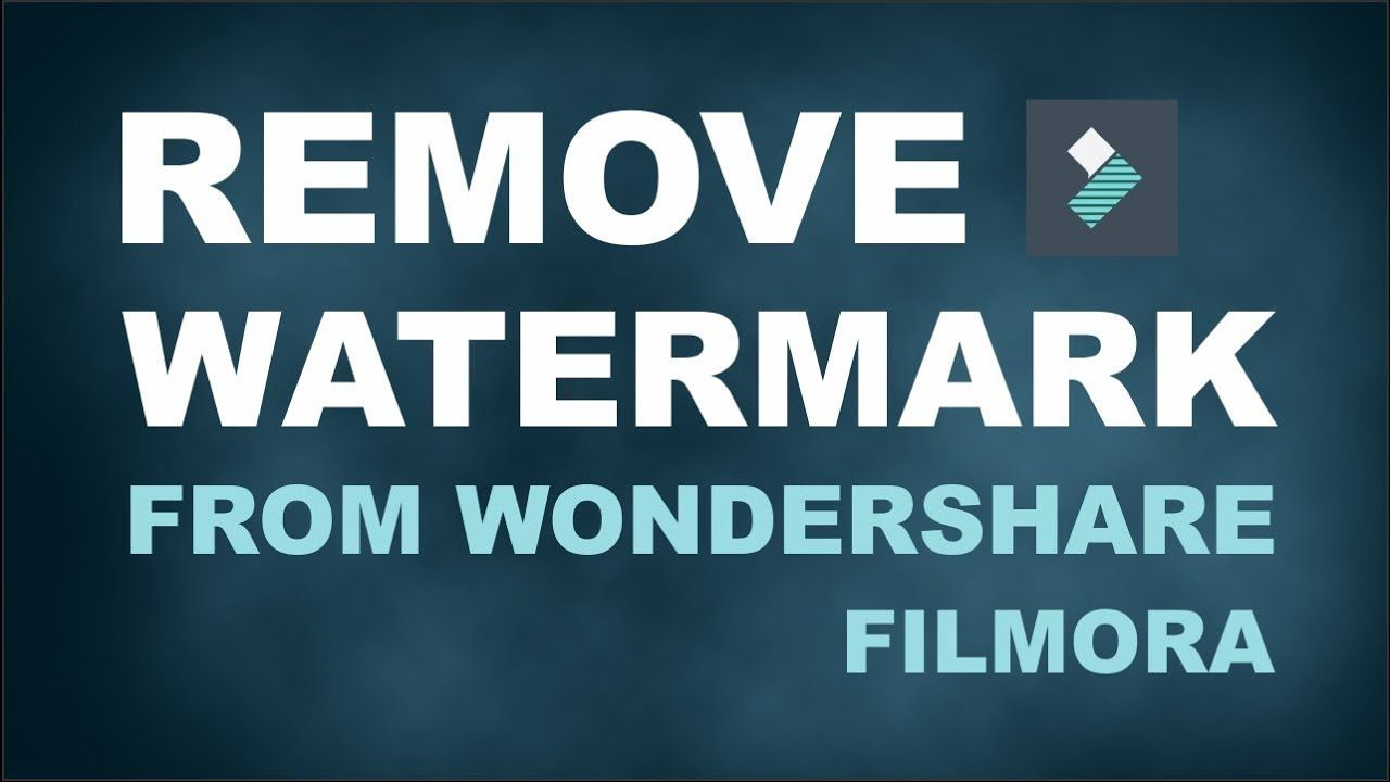 New How To Remove Watermark On Filmora 9 How To Remove Video Editing Video Editing Software