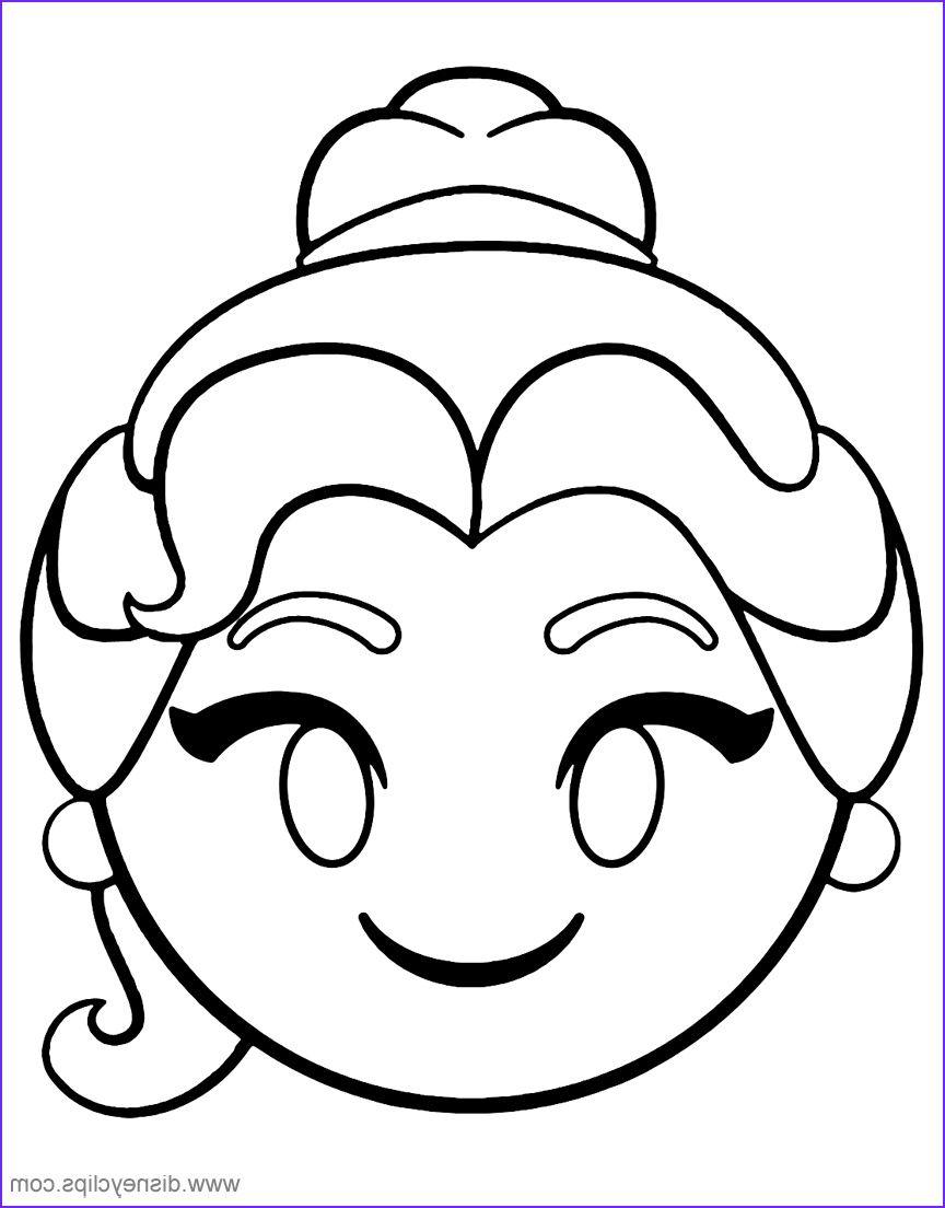 Coloring Sheets Emoji Amazing Design