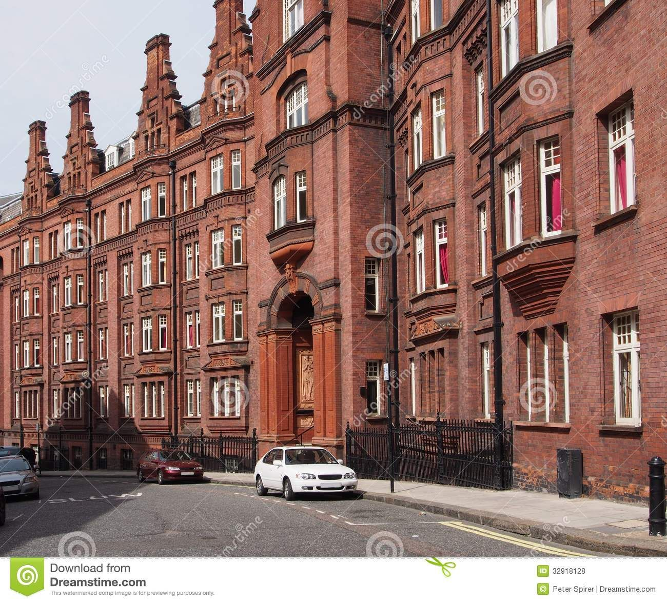 Old Education Buildings In London | London, Old Apartment Building Royalty  Free Stock Photos