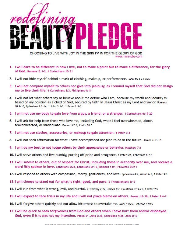 Redefining Beauty - Make A Survey In Word