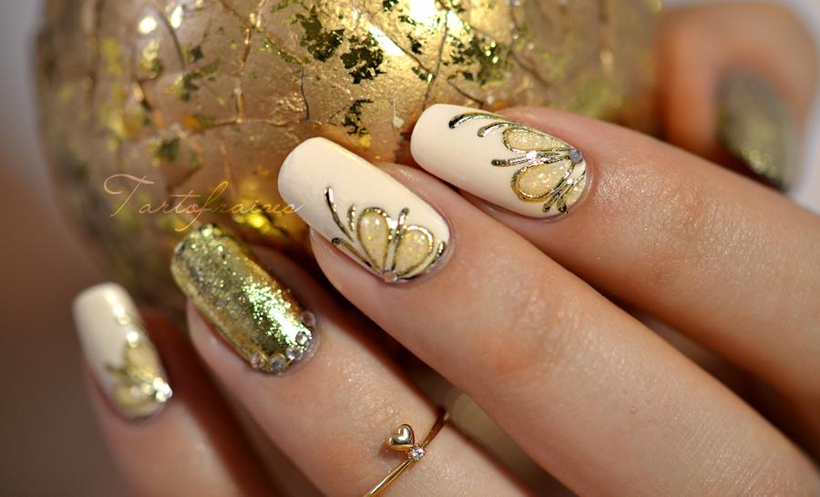 nail art gel foil | nails | Pinterest | Gel nail art, Designer nails ...