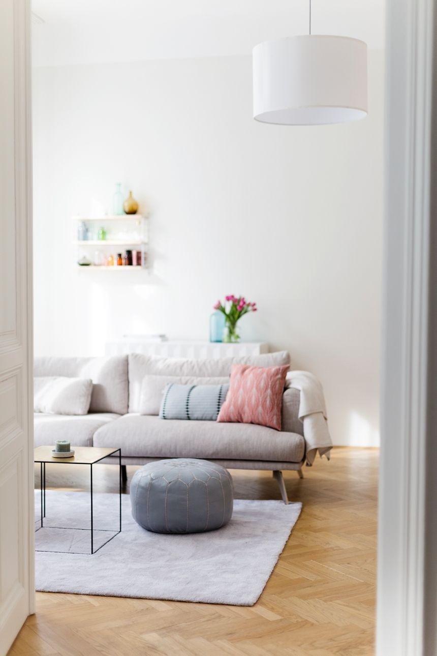 Ein Frühlingsfrisches Wohnzimmer