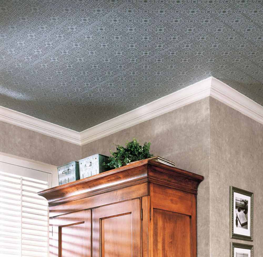 Paintable wallpaper small tile ceiling tile look 56 sq ft roll 497 paintable wallpaper small tile ceiling tile look 56 sq ft roll 497 96291 brewster dailygadgetfo Image collections