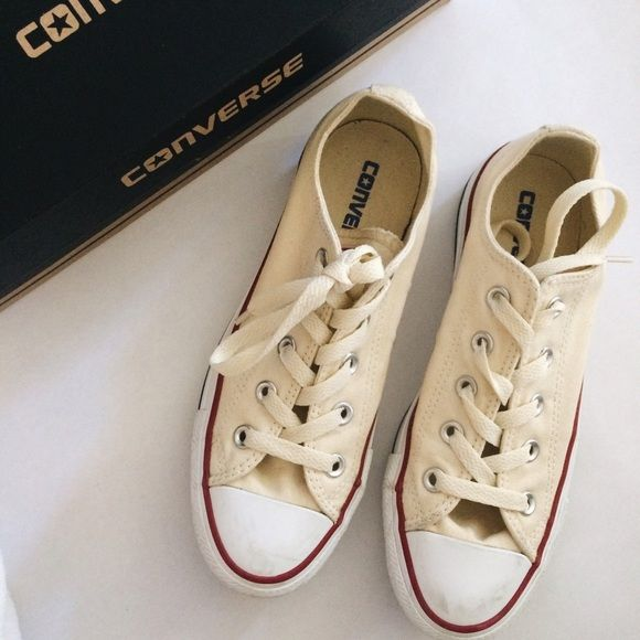 01de3694d4c6 Converse All Star Ox Natural White Shoes Converse All Star Ox Natural White  (looks like an off white) sneakers - M9165 - Unisex - Men s size 4  Women s  size ...