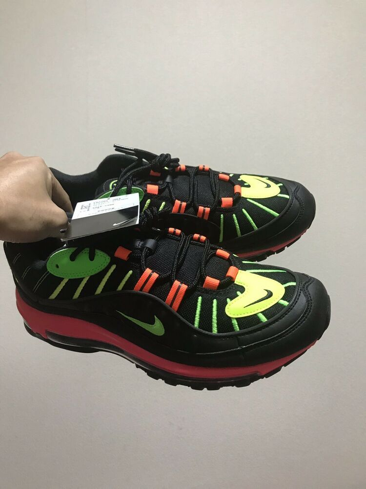 cheap for discount a04ff 56daa Nike Air Max 98 Tokyo Neon Collection Japan Limited Rare Sneakers Size 10.5   fashion  clothing  shoes  accessories  mensshoes  athleticshoes (ebay link)