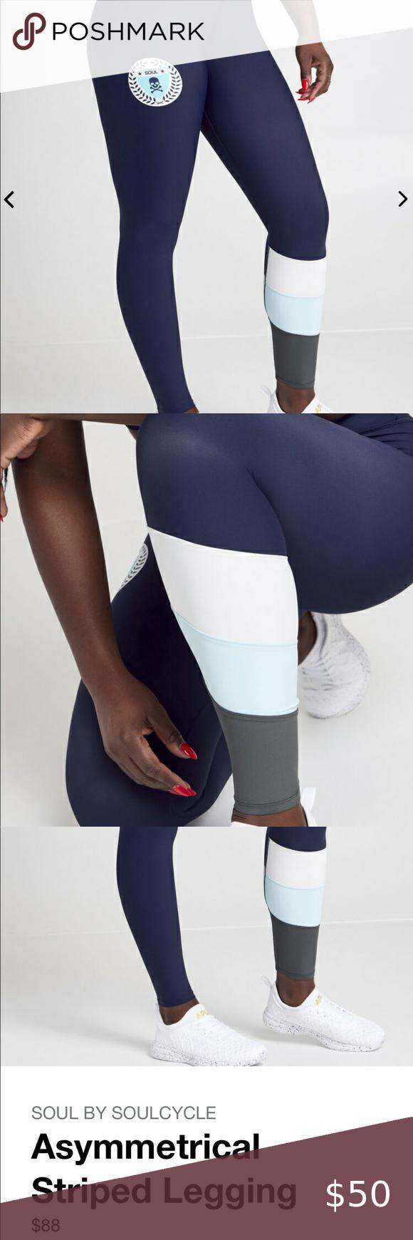 Soul By Soulcycle Asymmetrical Striped Legging Legging Lulu Leggings Tie Dye Yoga Leggings