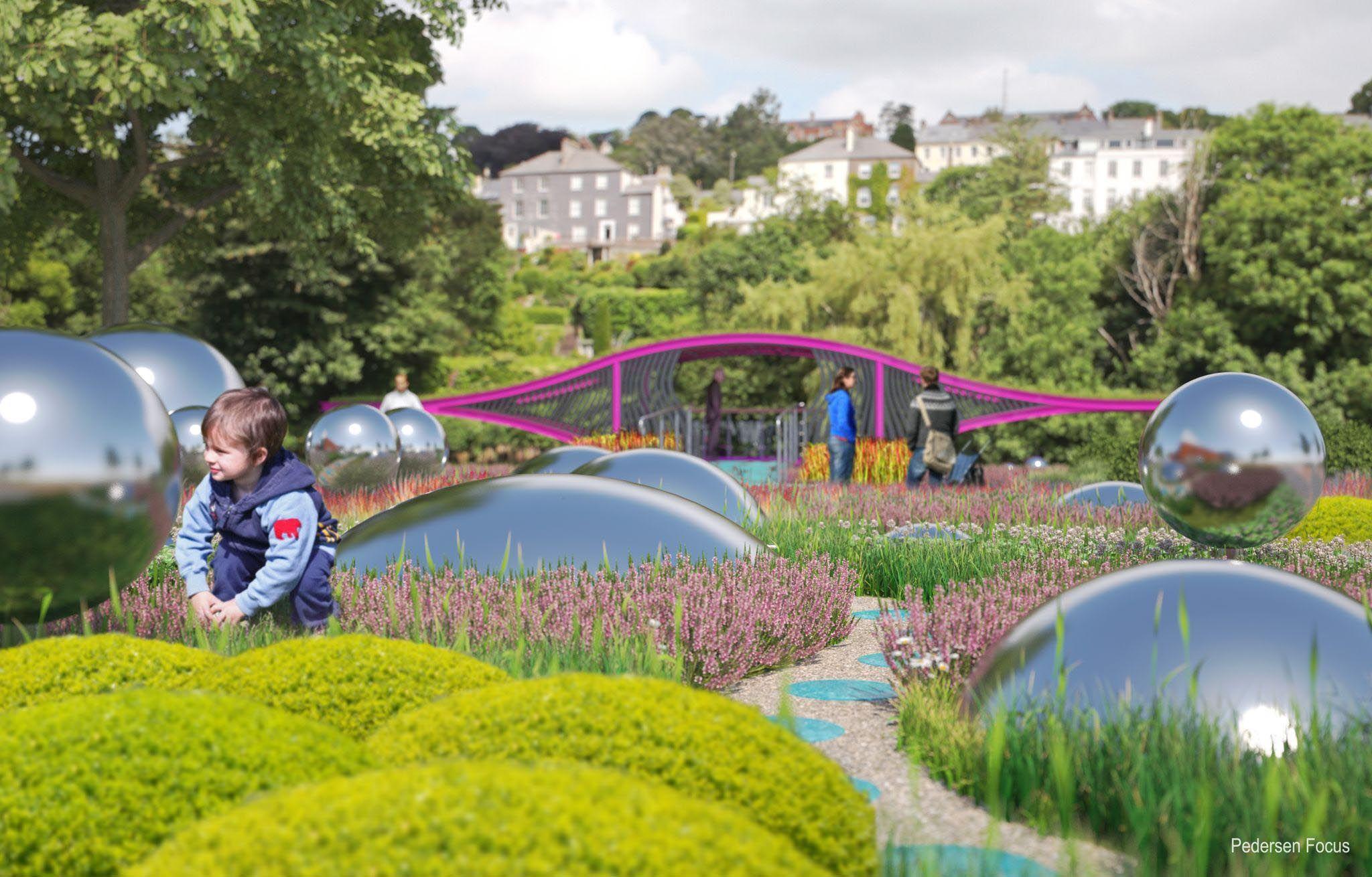 Sensory garden designers ireland fasci garden for Garden designs ireland