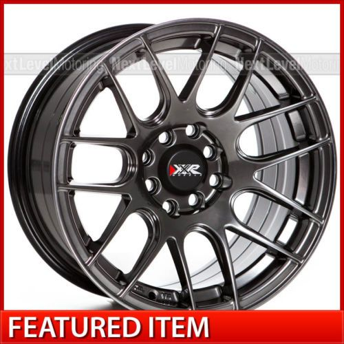 Xxr 530 15x8 4x100 4x114 3 20 Chromium Black Wheels Rims Wheel Black Wheels Chevrolet Cruze