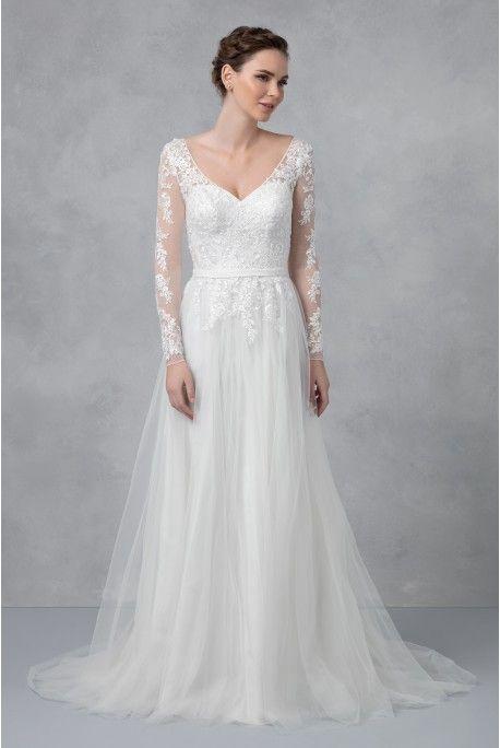 David S Bridal Wg3831 4 Wedding Dresses Vintage Bohemian Wedding Dress Long Sleeve Davids Bridal Wedding Dresses